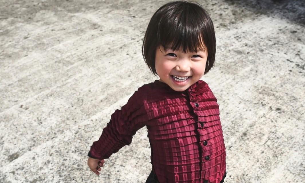 Изобретена одежда, которая растет вместе с ребенком