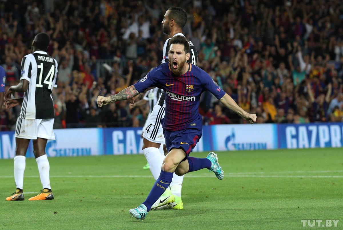 «Барселона» с крупным счетом обыграла «Ювентус» в Лиге чемпионов