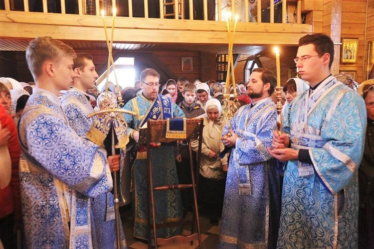 Престольный праздник храма «Целительница» г. Бобруйска