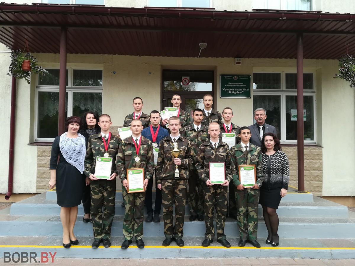 Бобруйские кадеты – в числе лучших кадетов Союзного государства