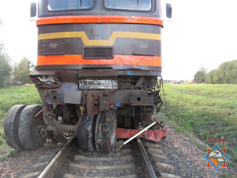ДТП на железнодорожном переезде