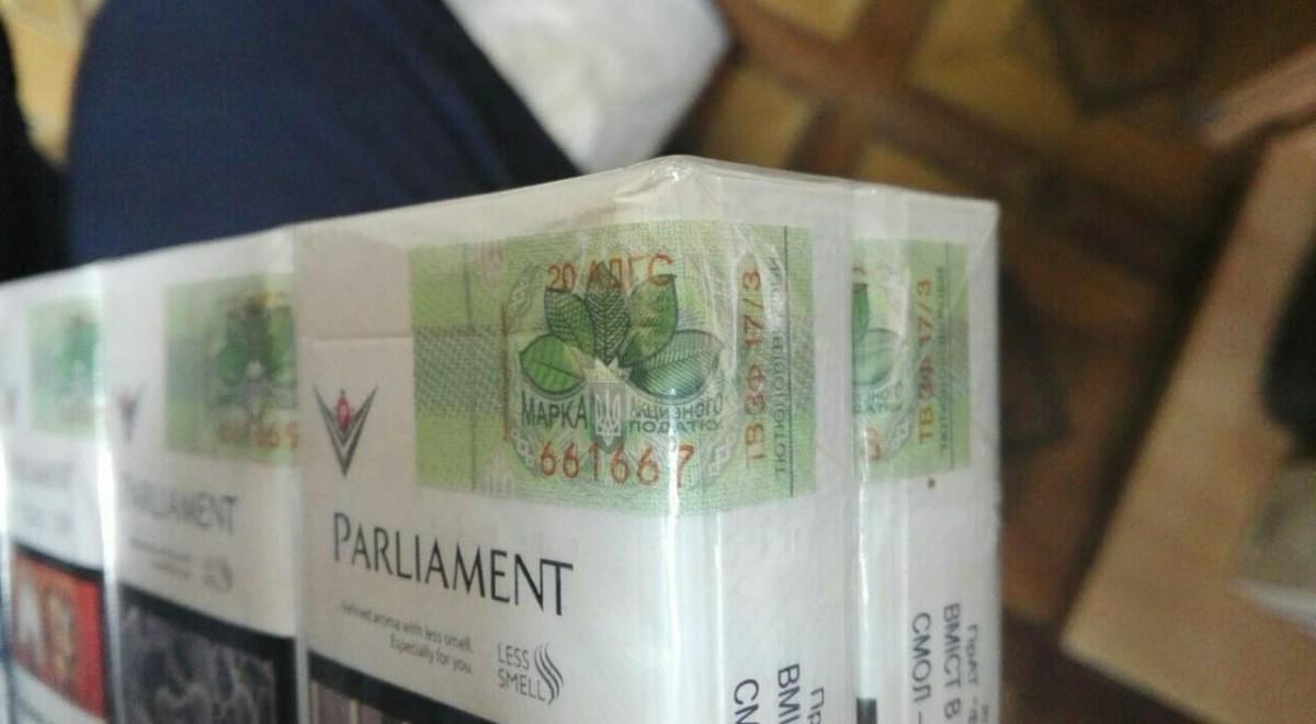 УБЭП УВД: Партия сигарет изъята у жительницы Бобруйска