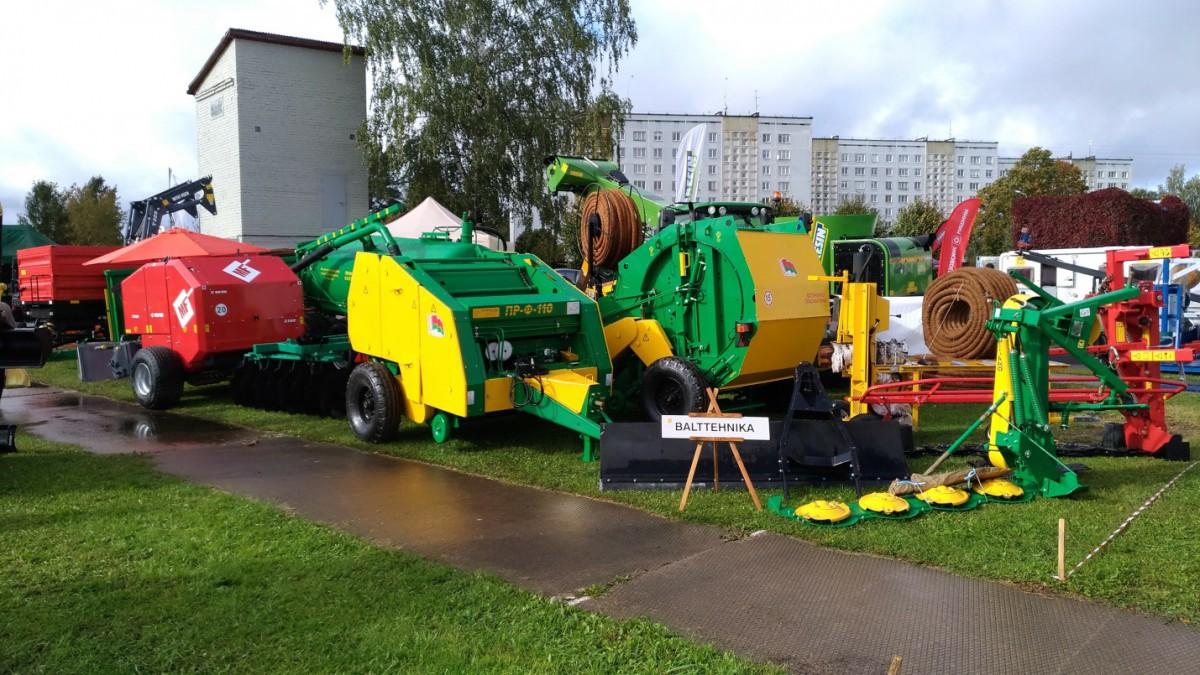 Техника «Бобруйскагромаш» на выставке «Осень 2017» в Латвийской Республике