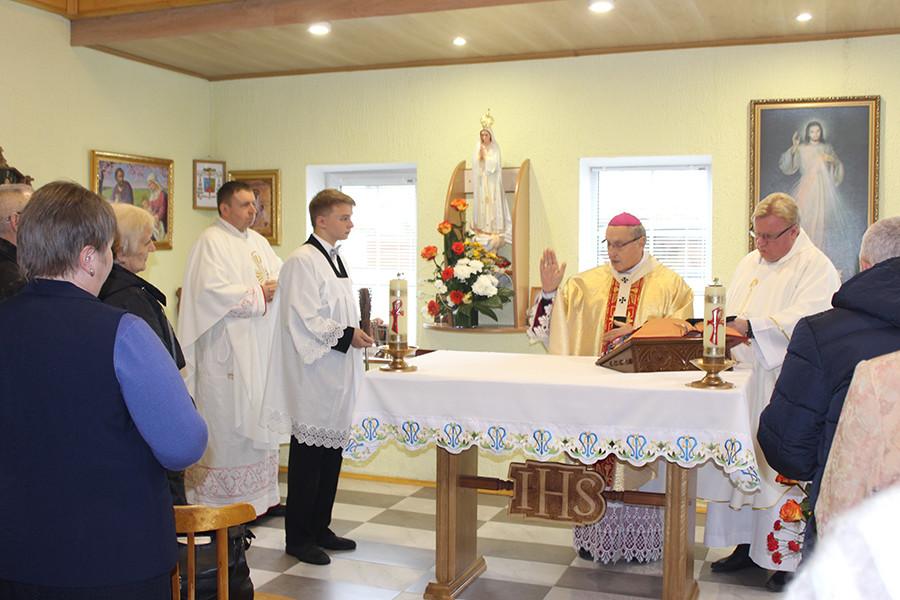 Католический костел начал действовать в Кличеве