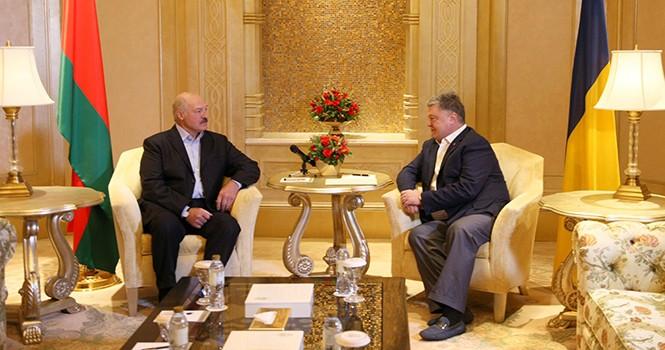 Лукашенко и Порошенко встретились в ОАЭ