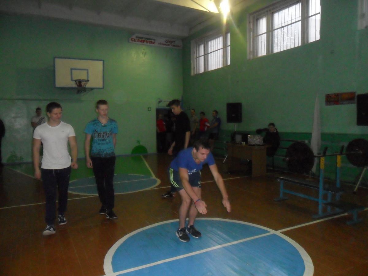 Районная спартакиада «Академия мужества» прошла в Ленинском районе Бобруйска