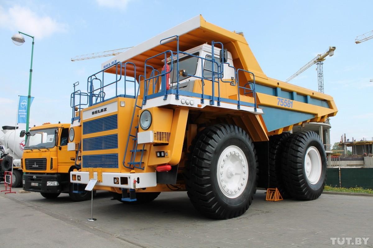 В Беларуси планируют разработать беспилотный грузовик