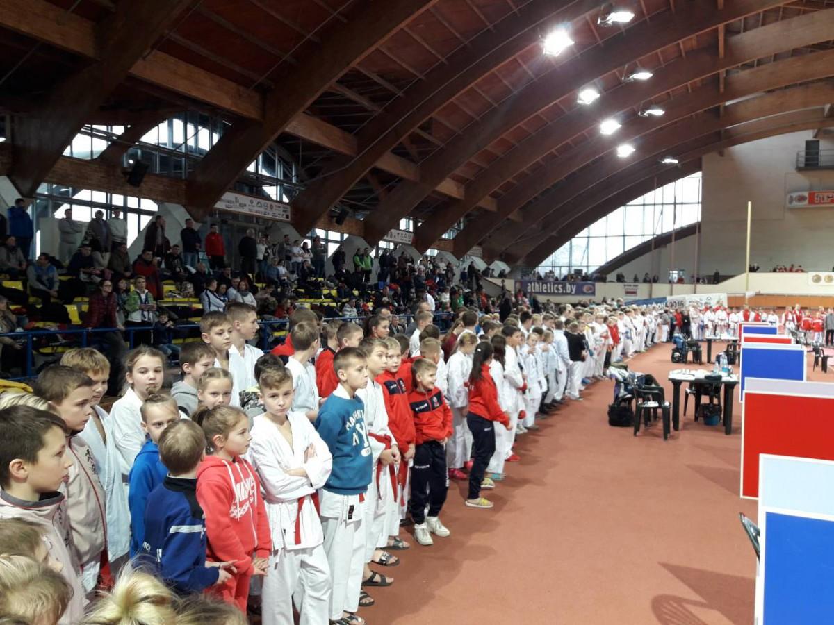 1 декабря в Минске завершилось первенство Республики Беларусь по каратэ среди юношей и девушек 2004-2005г. рождения