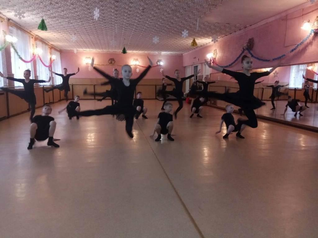 Дети танцевали с удовольствием