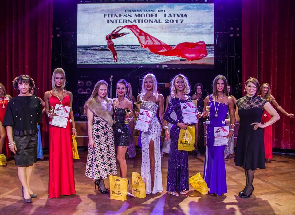 Конкурс спортивных моделей «Fitness Model Latvia-2017 & Fitness Model Latvia International» на круизном лайнере «Romantika» завершил сезон с участием наших спортсменов.