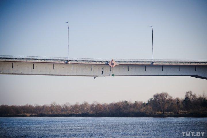 Мост через Березину в районе Бобруйска может быть признан аварийным