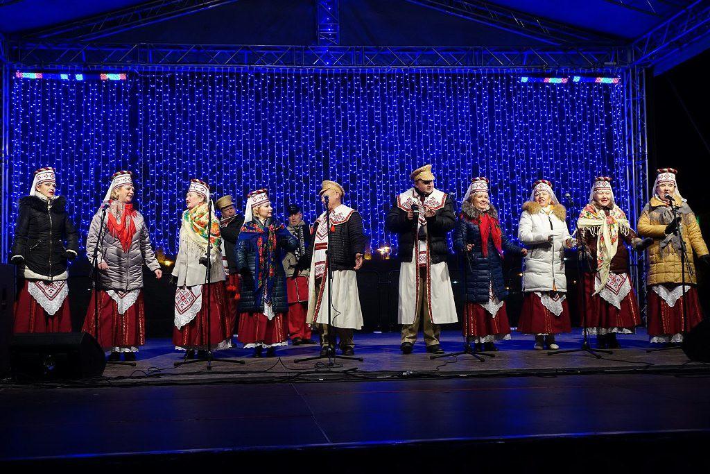 Бобруйск встретил Новый  год и Рождество