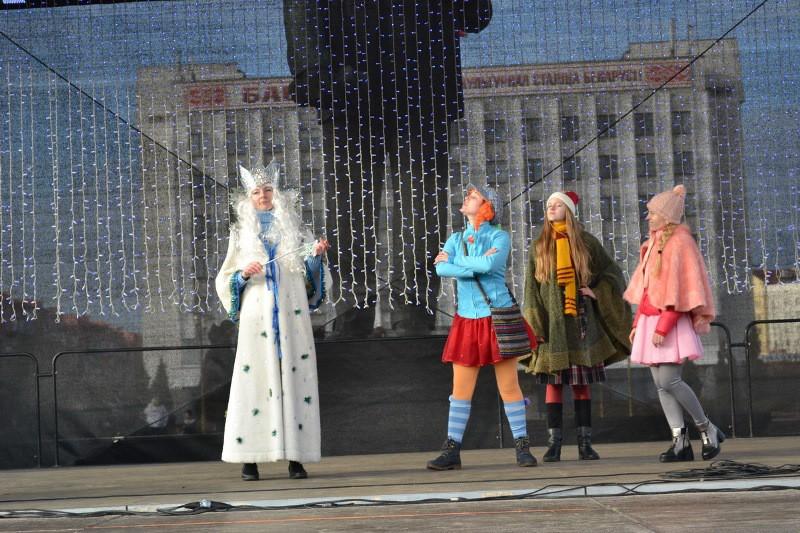 Бобруйск встретил Новый  год и Рождество. Дополнено