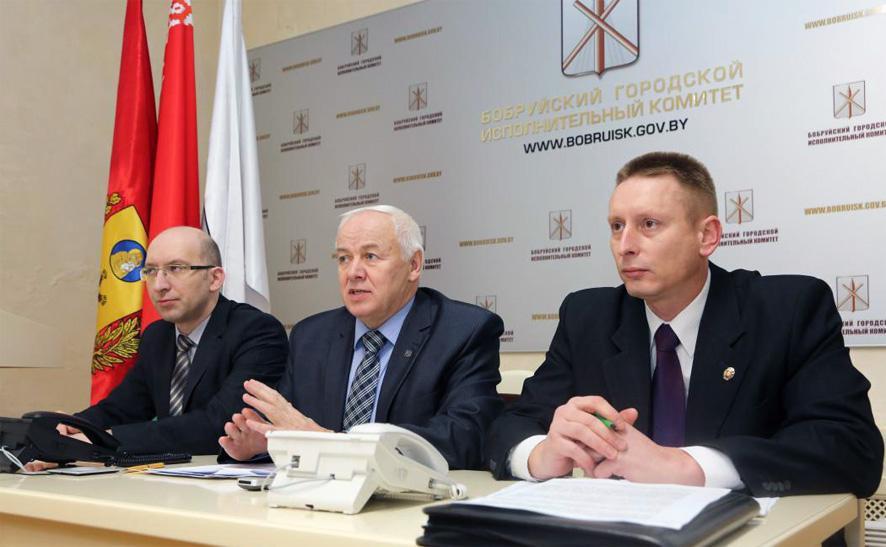 «Круглый стол» на тему предотвращения коррупционных правонарушений провели в Бобруйском горисполкоме