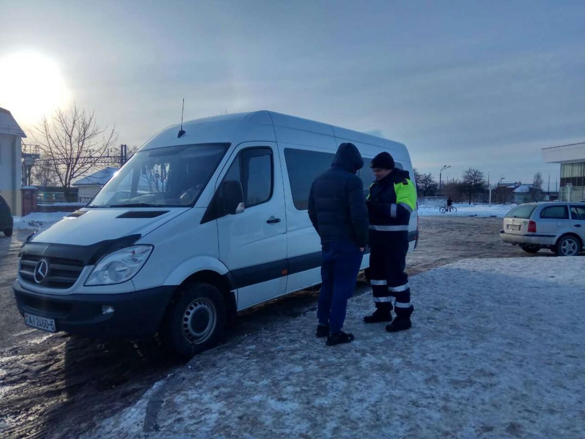 28 февраля в Бобруйске завершились мероприятия по пресечению «нелегальных» пассажирских перевозок.