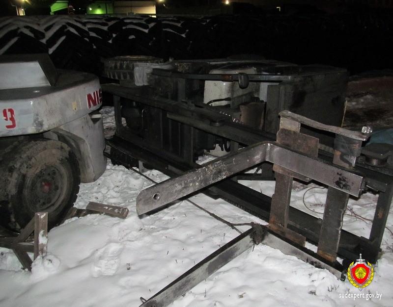 На предприятии «Белшина» погиб водитель погрузчика, работавший в ночную смену. Обновлено