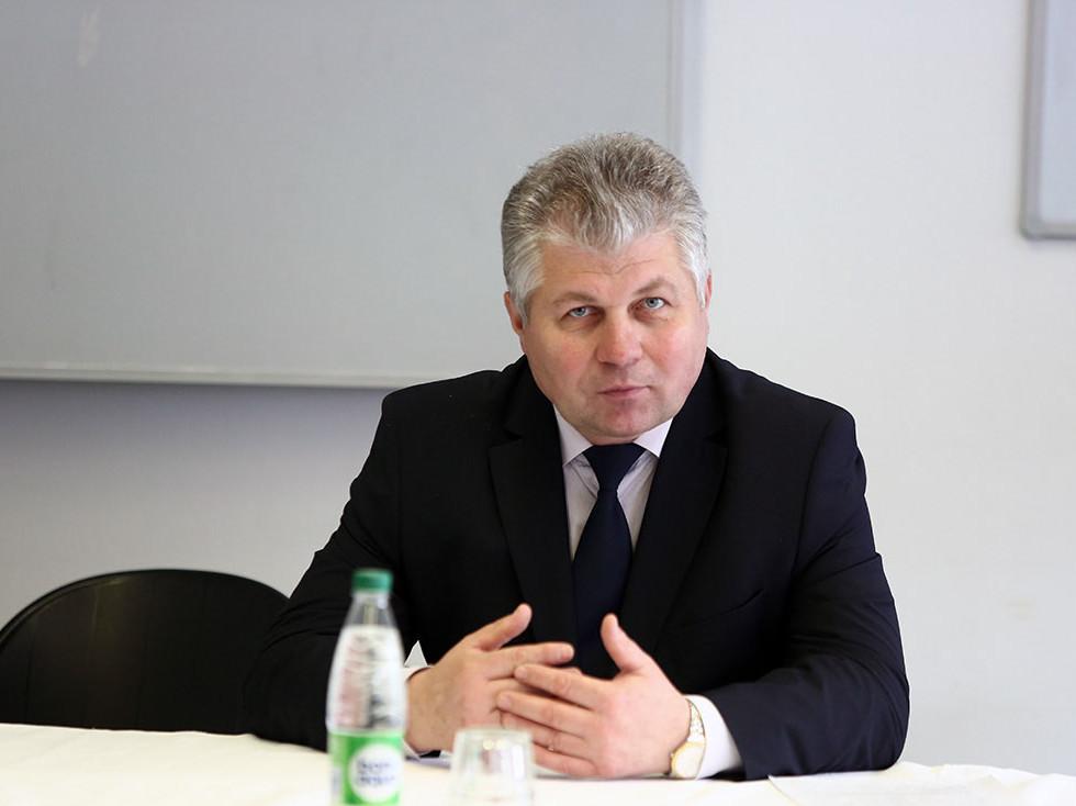 Замминистра труда и соцзащиты Александр Румак.