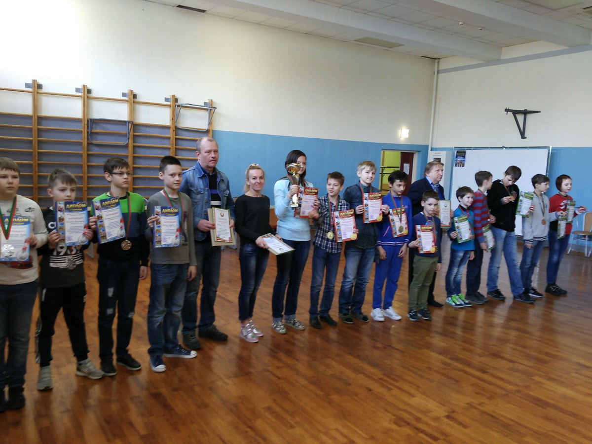 «Золотая» команда Центра творчества детей и молодежи – победитель республиканских соревнований по шахматам