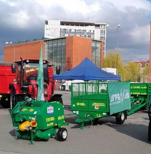 На международной выставке в Чехии «Бобруйскагромаш» заключил договора купли-продажи на сумму свыше 35 тысяч евро