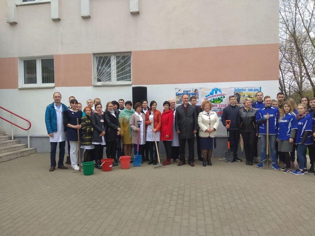 Первомайский район Бобруйска – в порядке! Дополнено
