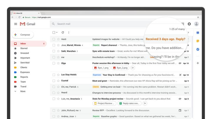 Google представила обновленный Gmail