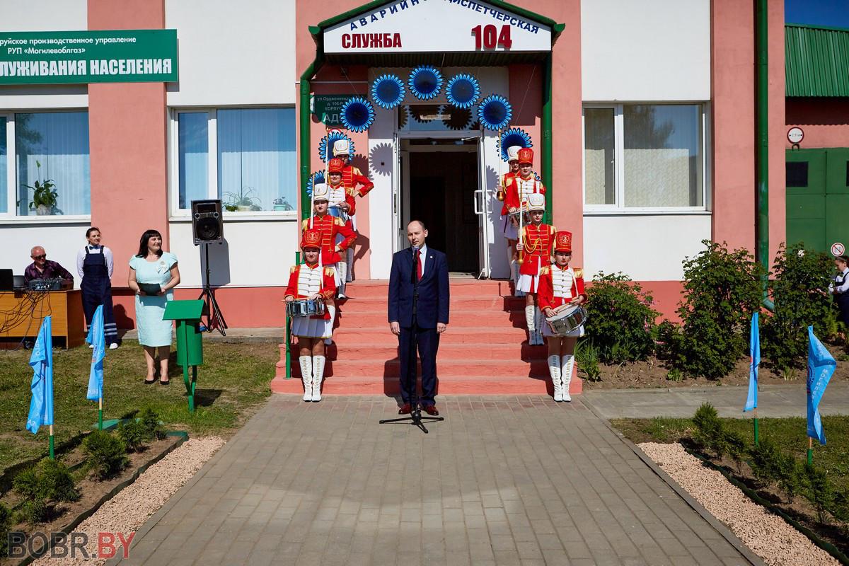 Фоторепортаж с места события: всё для удобства бобруйчан и жителей района