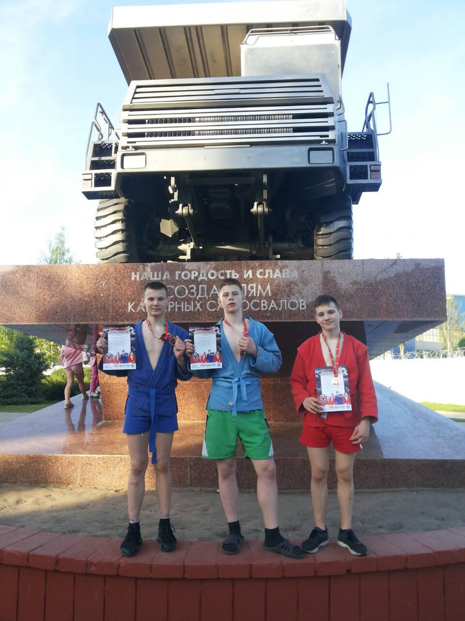 «Золото» из Жодино привезли в Бобруйск дзюдоисты