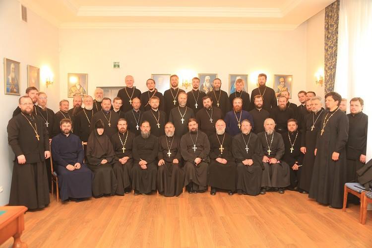 Протоиерей Андрей Ткачев провел пастырский семинар для духовенства Бобруйской епархии