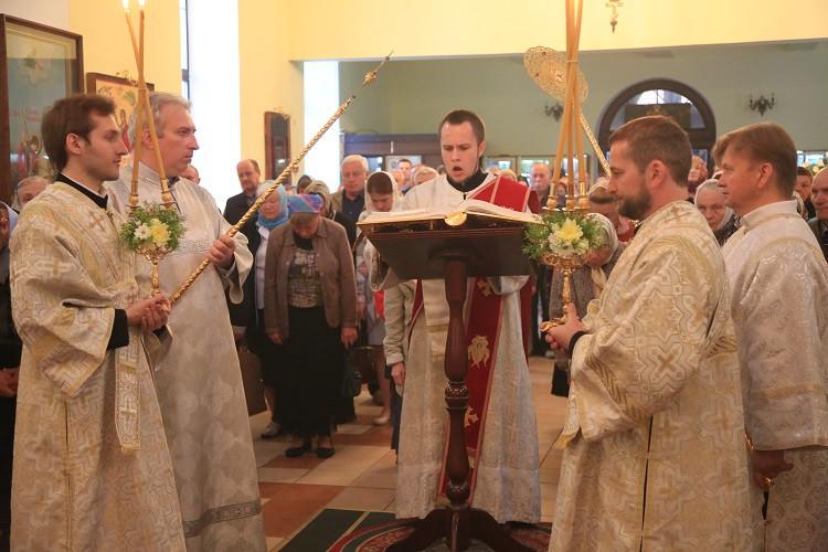 Никольский соборный храм г. Бобруйска отметил свой престольный праздник