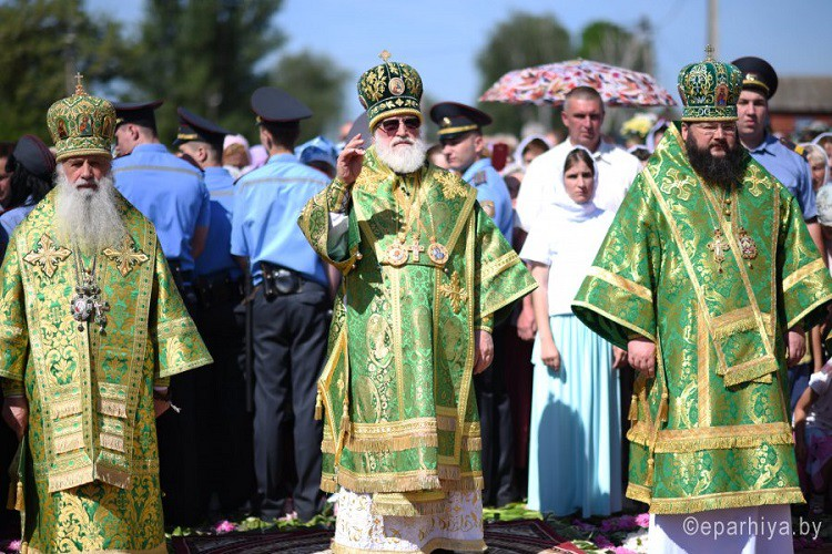 Епископ Серафим принял участие в торжествах, посвященных дню памяти святого праведного Иоанна Кормянского