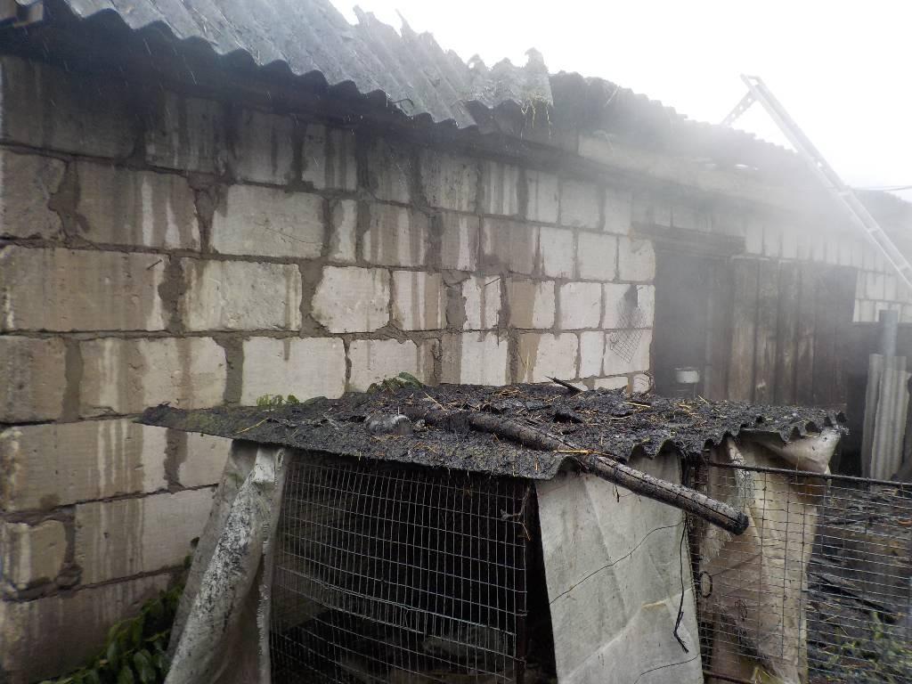 Пожарная дружина КФХ спасла имущество сельчанина