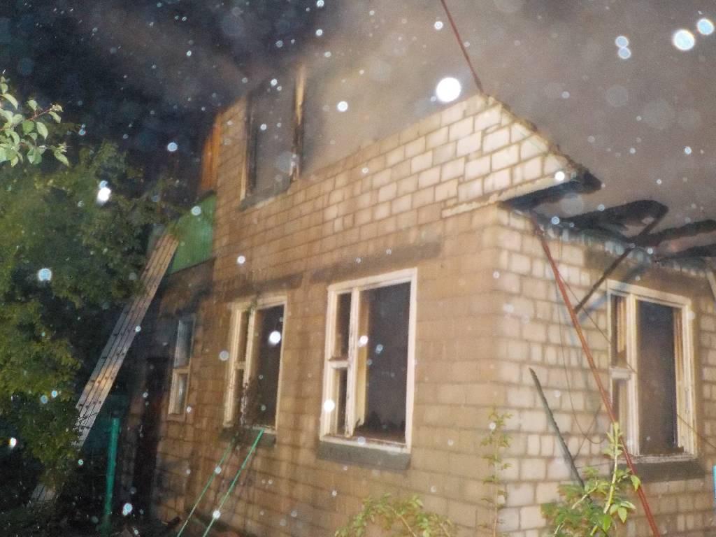Ночью 2 июля 2018 года поступило сообщение о загорании дачного дома в СТ «Колос» расположенном рядом с деревней Старинки Бобруйского района.