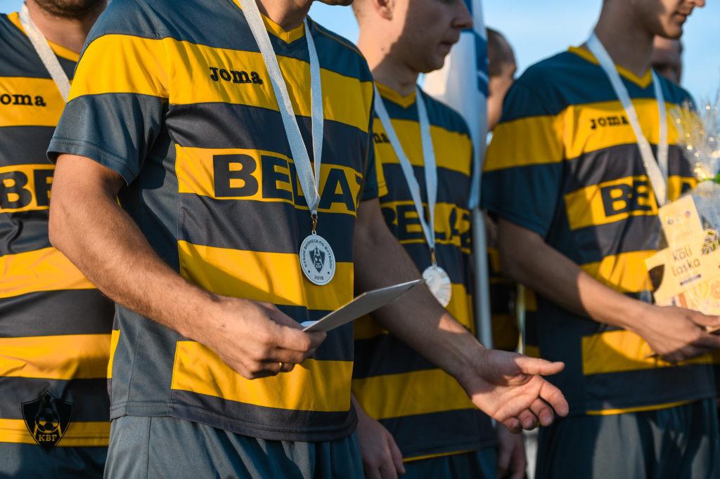 Команда «ФанДОК» заняла заслуженное третье место в турнире «Кубка бизнеса по футболу»