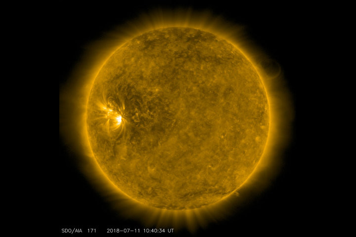 Солнечная активность упала до нуля