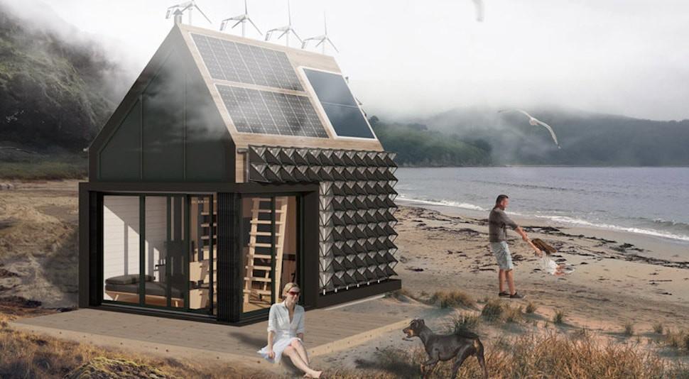 Идеально для дауншифтеров. В России разработали автономный дом из соломы и дерева, отапливаемый за счет солнечных батарей