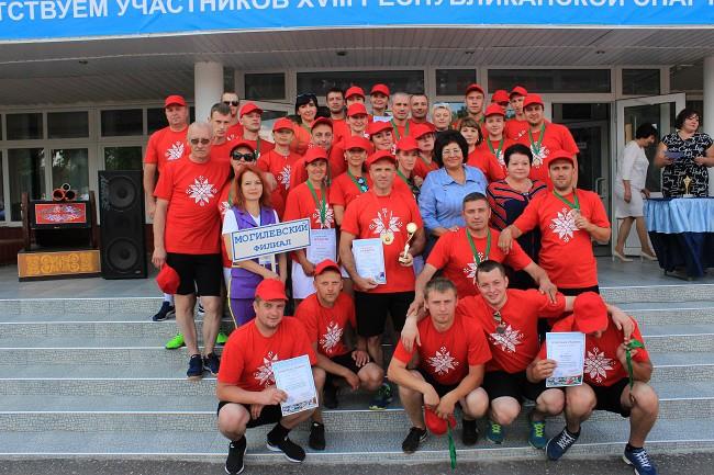 Заслуженной наградой «Самый опытный спортсмен» был отмечен почтальон из Бобруйска.