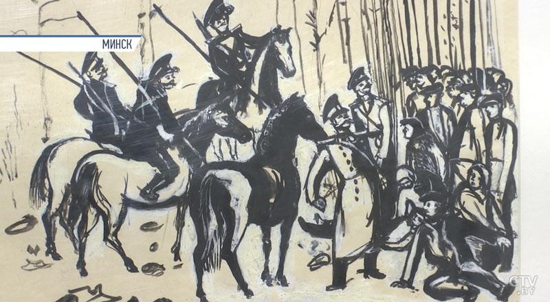 Выставка рисунков Меера Аксельрода побывает в Бобруйске