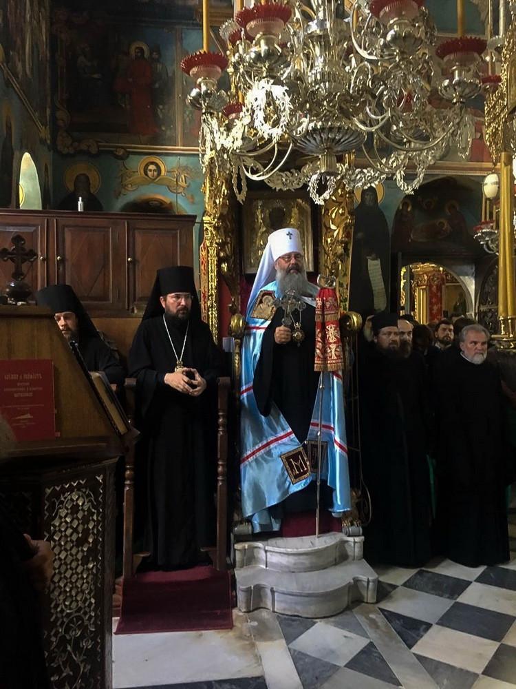 9 августа 2018 года отметил свой престольный праздник Пантелеимоновский монастырь на Святой Горе Афон.