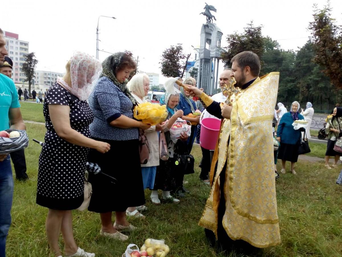 Традиционный крестный ход в день Преображения Господня прошел в Бобруйске