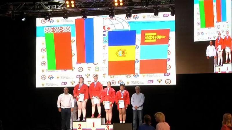 Три награды завоевали бобруйские спортсмены на первом Чемпионате мира по самбо среди школьников