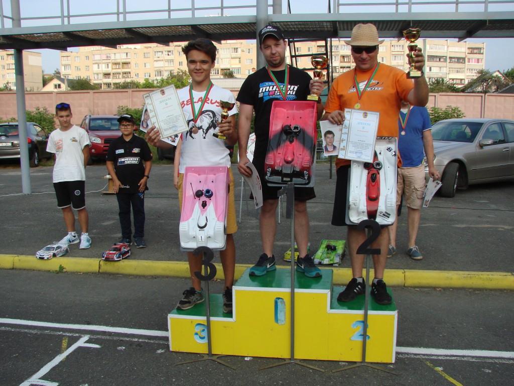 Соревнования по автомодельному спорту были в Бобруйске интересными и богатыми на события