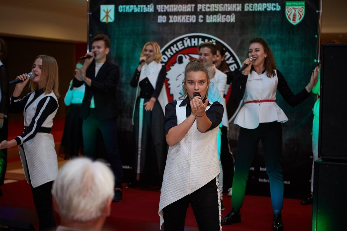 Презентация хоккейного клуба «Бобруйск» прошла в «Бобруйск-Арене»