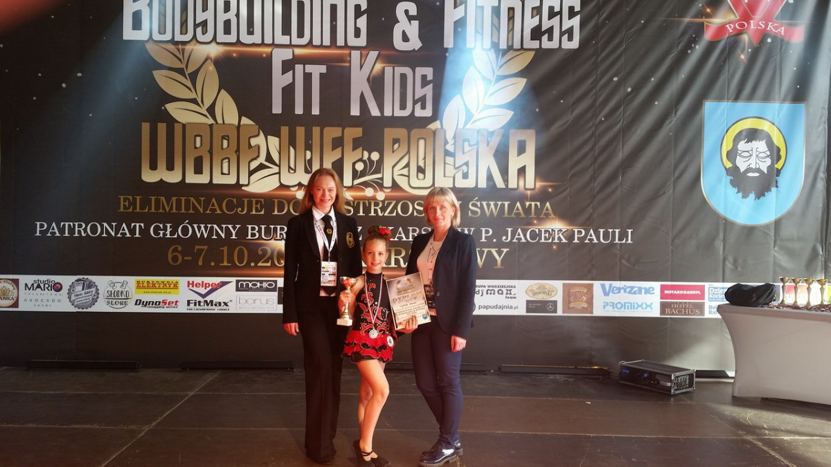 Юная бобруйчанка Ульяна Самак восхитила чемпионку мира по аэробному фитнессу