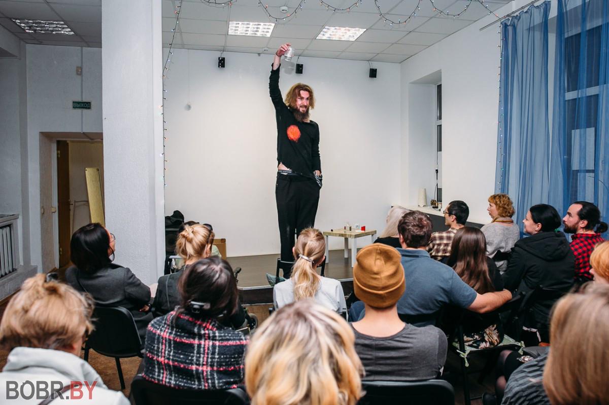Показ моноспектакля «Самая красивая женщина в городе» прошел в Бобруйске