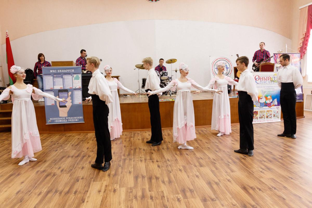 Бобруйские спасатели возобновляют традиции