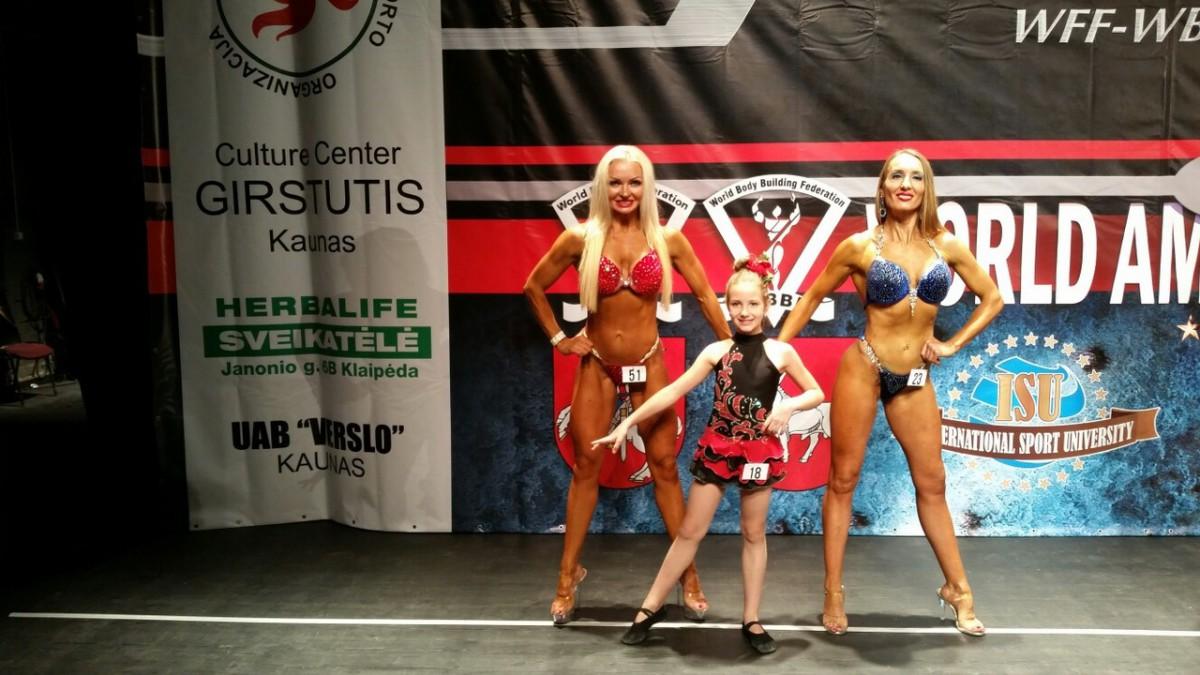 Бобруйчанка Самак Ульяна – первая чемпионка мира команды «Олимпия Fit-Kid Wff Belarus»
