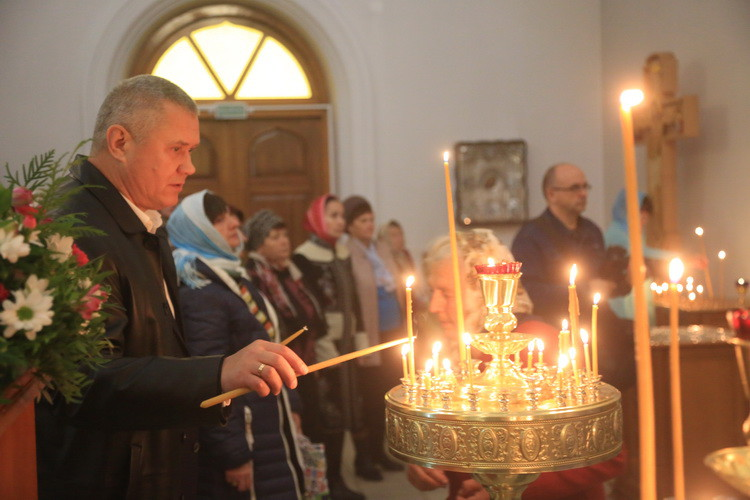 Юбилей отметил приход храма в Киселевичах