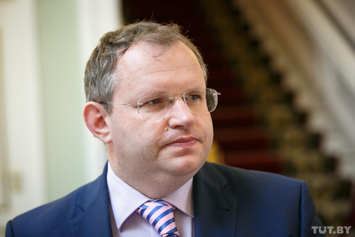 министр финансов Беларуси Максим Ермолович