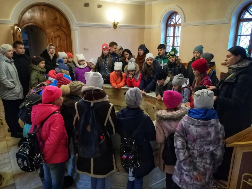На осенних каникулах юные бобруйчане совершили экскурсию в храм
