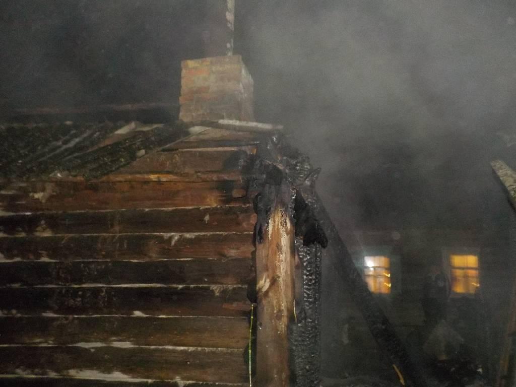 Спасатели в Турках тушили баню